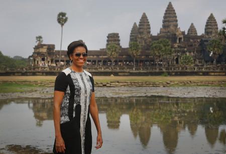 Cambodia US Michelle Obama