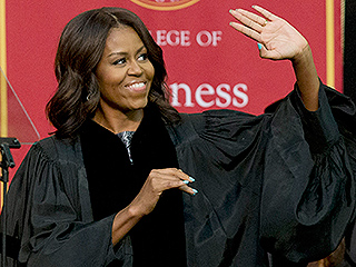 [Watch] Michelle Obama Gives Racist Commencement Speech To Graduating Class