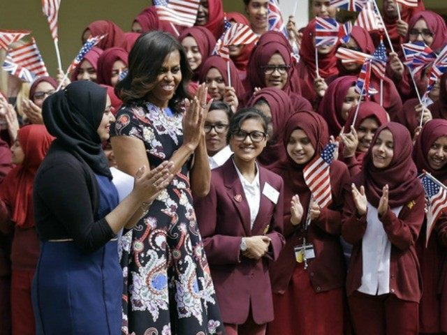 Michelle Obama Tells Students In the UK That Men Are 'Useful' [Video]