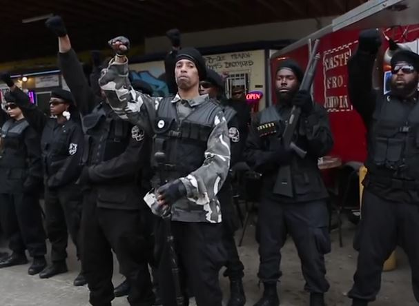 Black Panthers Call For Killing Police In Texas: 'The Only Good Pig Is A Pig That's Dead' [Video]