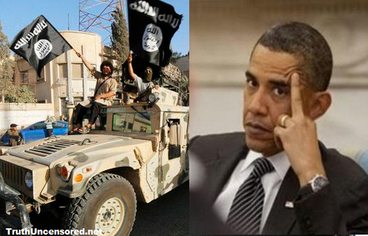 Obama Gives ISIS Armored Humvee's Worth $579 MILLION [Video]