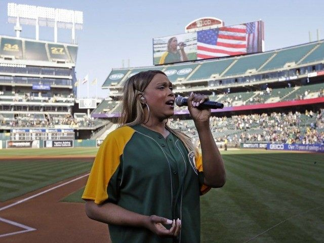 Historical Moment? Transgender Woman Sings National Anthem At Pro Sporting Event