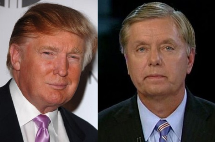 Sen. Lindsey Graham Called Donald Trump A 'Jackass' So Trump Gave Out Graham's Phone Number [Video]