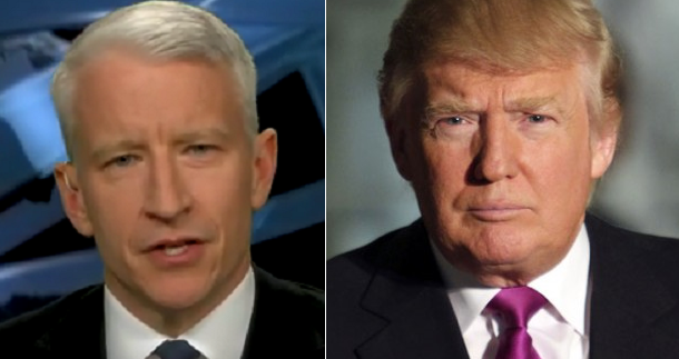 "Trump To Anderson Cooper During Interview: ""The People Don't Trust You And The Media"" [Video]"