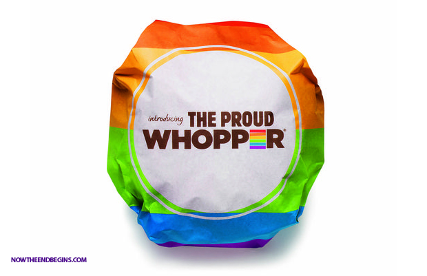 Burger King Celebrates Same-Sex Marriage With The 'Proud' Whopper