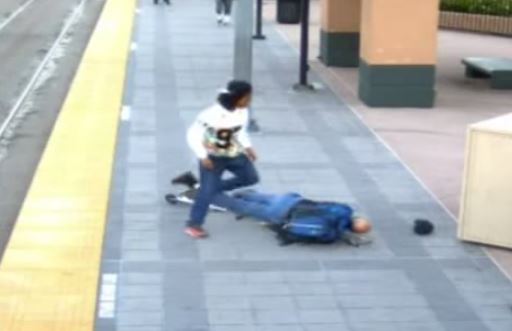 Shocking Footage Of Navy Veteran Knocked Out By Thug in Brutal 'Knockout Game' [Video]