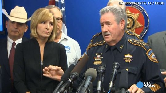 "Sheriff Links ""National Rhetoric' To Killing Of Deputy In Houston (Video)"