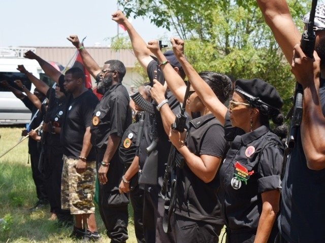 Armed Black Panthers March in Texas Chanting 'Off the Pigs' [Video]