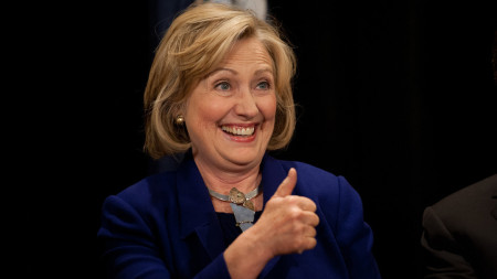 Hillary Clinton And Gov. Andrew Cuomo