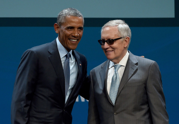 Obama To Democrats:  Harry Reid And I Are Trying To Deal With 'The Crazies'