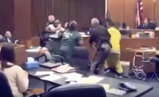 REVENGE: Father Attacks His Daughter's Killer In Court And It's All Caught On Tape [VIDEO]