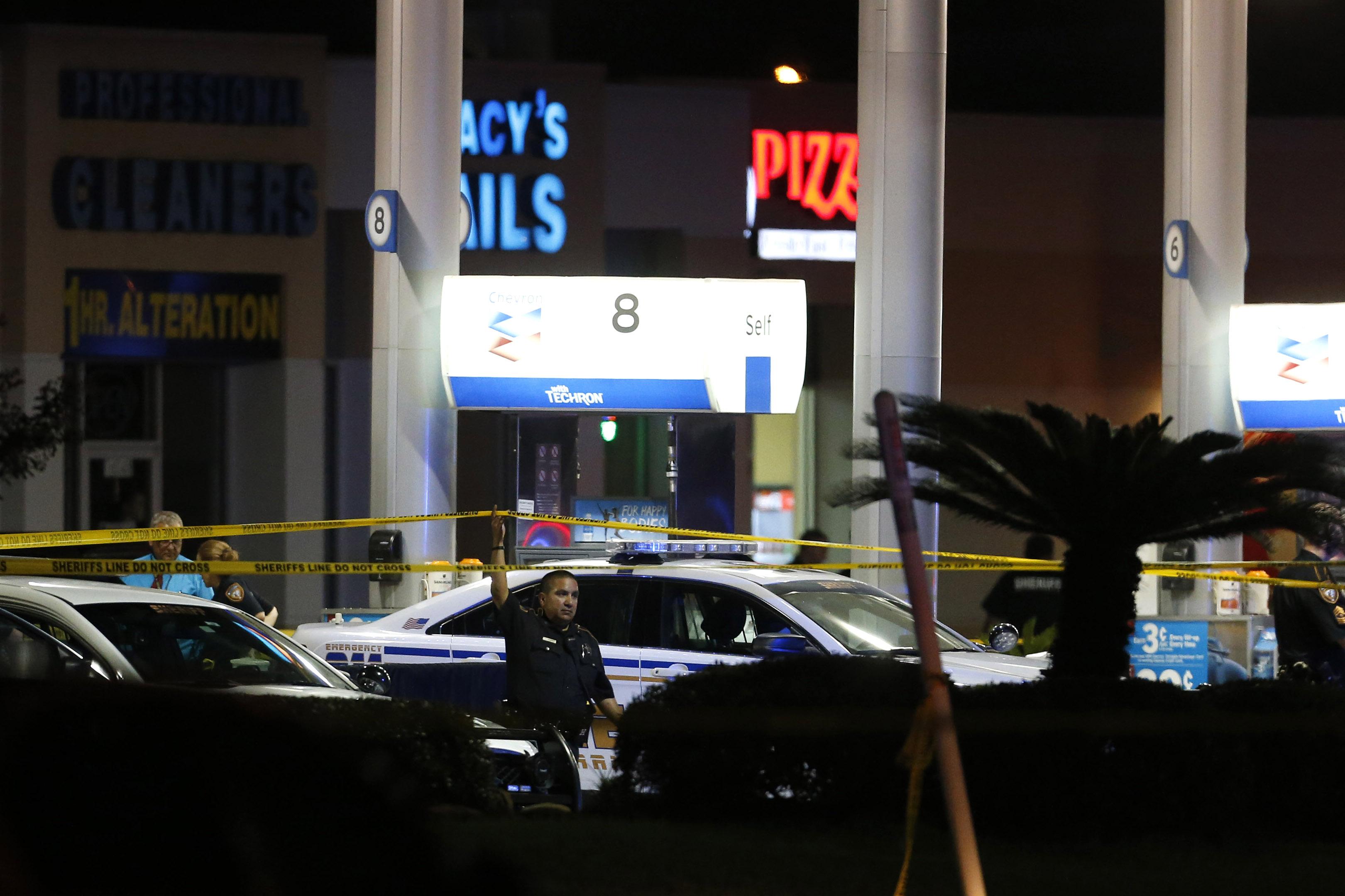 Deputy Shot Houston
