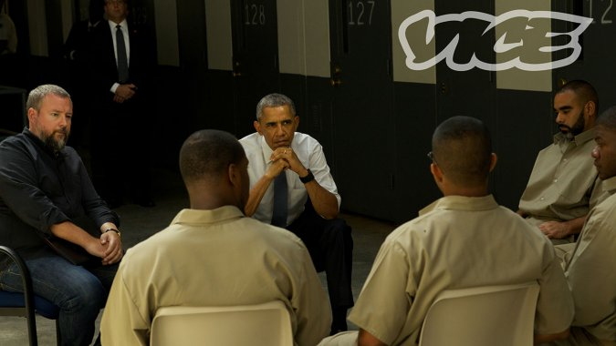 WATCH:  Obama Visits Federal Prison In First Trailer For 'Fixing The System' Doc