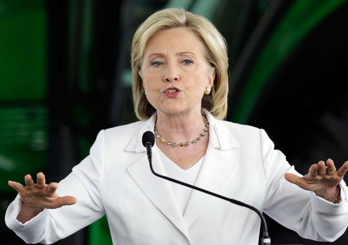 Clinton Likens GOP's Views On Women To Those Of Terrorist