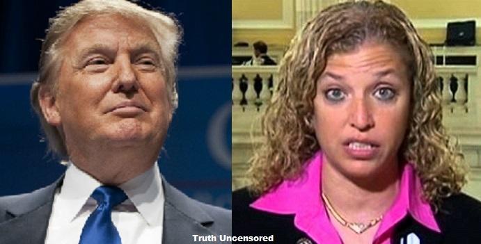 Donald Trump Slams DNC Chair Wasserman Schultz: 'She Should Not Be Representing Anyone' [Video]