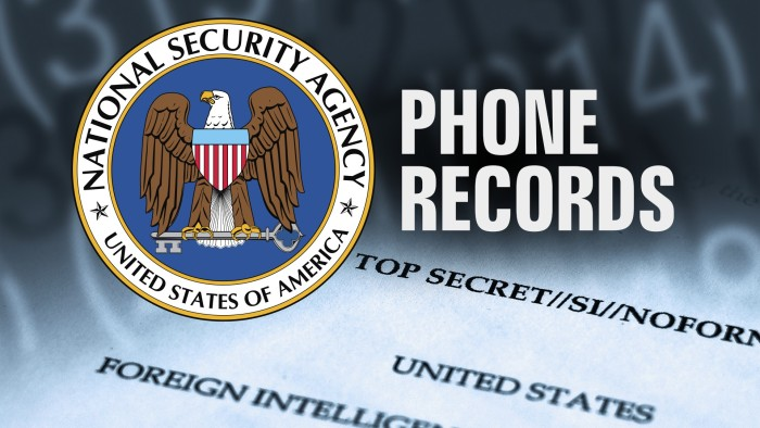 A DC Appeals Court Has Lifted An Injunction Against The NSA Phone Call Records Program