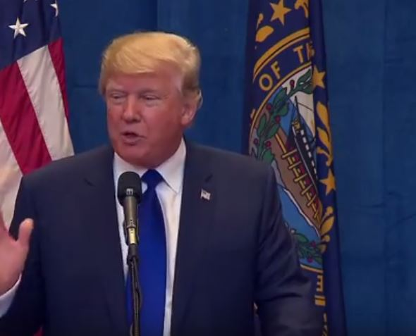 "Donald Trump Responds To Reporter Saying ""Anchor Baby"" Is Offensive [Video]"