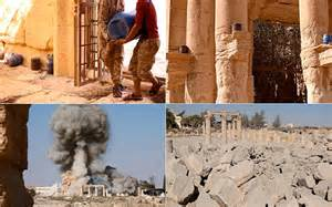 Islamic State Release Pictures After 'Destroying Ancient Temple' At Palmyra