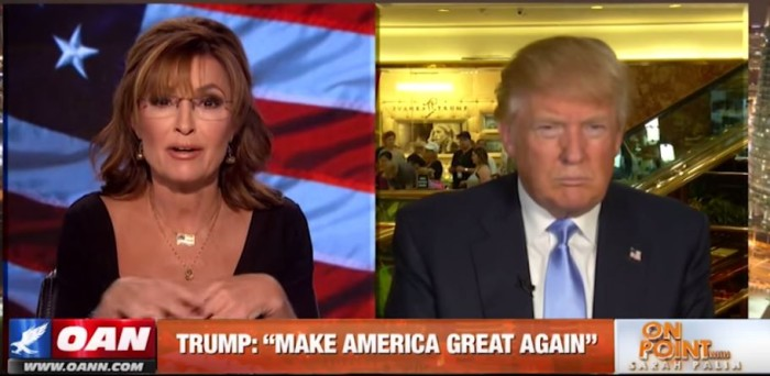Palin And Trump Talk: Mexico, Veterans And Americas Economy [Video]