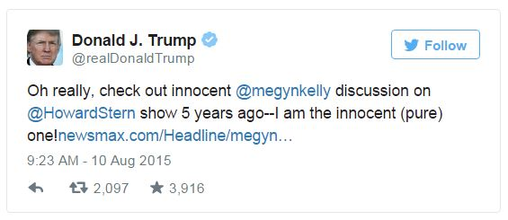 Trump Posts Megyn Kelly, Howard Stern Raunchy Interview Discussing Breasts And Penises  [Video]