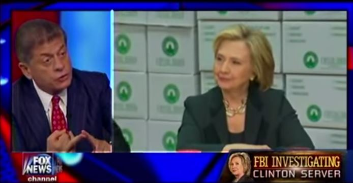 BUSTED: Judge Napolitano Says Hillary Clinton's Emails Revealed Classified Information [Video]