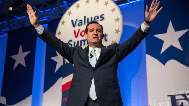Cruz Wins Values Voter Summit Straw Poll For Third Straight Year