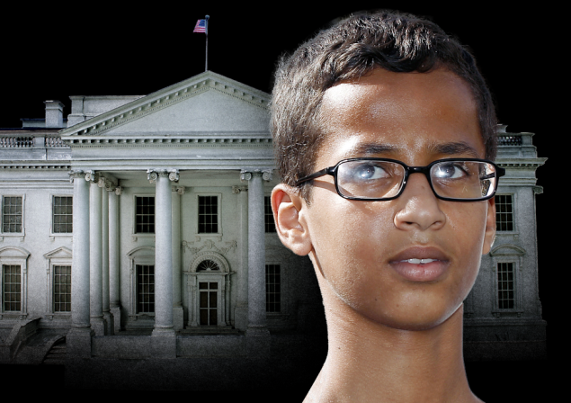 You Will Not Believe Who Innocent Victim And Clock-Builder Ahmed Mohamed's Daddy Is [video]