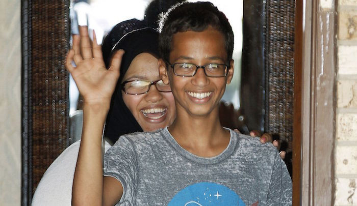 Clockmaker Ahmed Mohamed's Sister Was Once Suspended From School For Threatening To Blow It Up