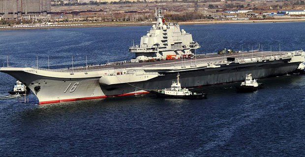 China-Warships-Dock-In-Syria
