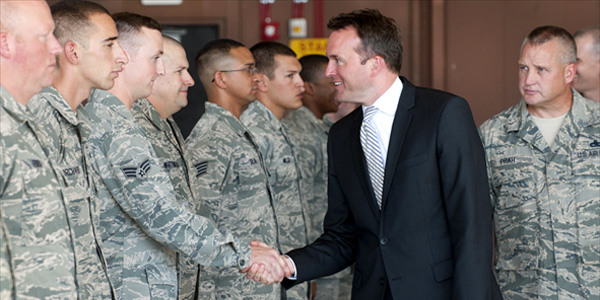 Openly Gay Eric Fanning To Lead The U.S. Army