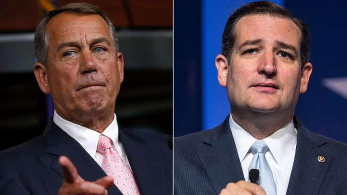 "Ted Cruz Responds To John Boehner's 'Keep The ""Jackass"" Out Of Washington' Insult"
