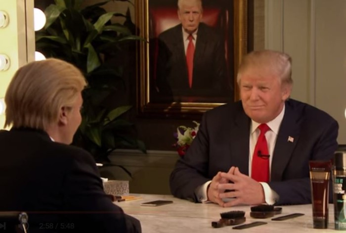 Donald Trump Interviews His Reflection In the Mirror [Video]