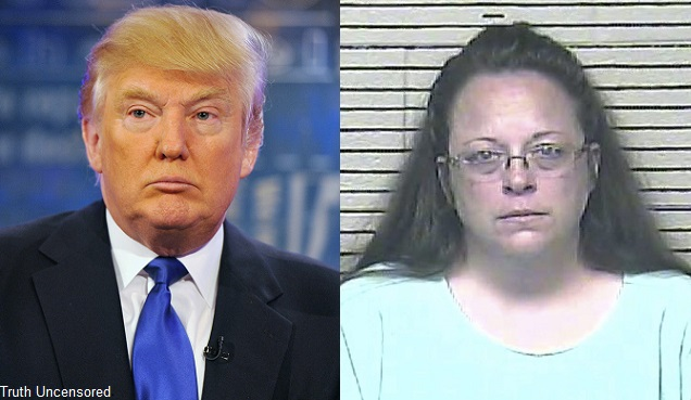 Trump On Kim Davis: I Believe 'Both Sides Of The Picture'