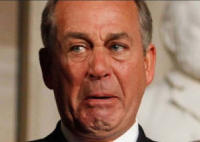 House Speaker John Boehner Resigning From Congress At The End Of October