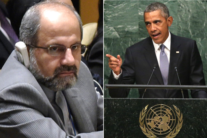 Obama 'Accidentally' Shakes Hands With Iran's Foreign Minister