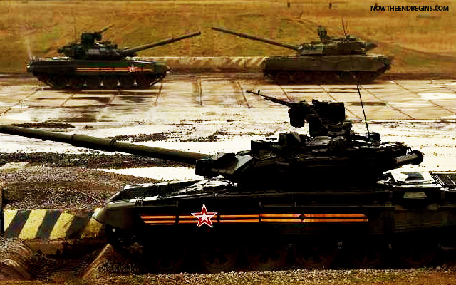 Russia Positioning Tanks At Syrian Airfield In Unprecedented Military Buildup