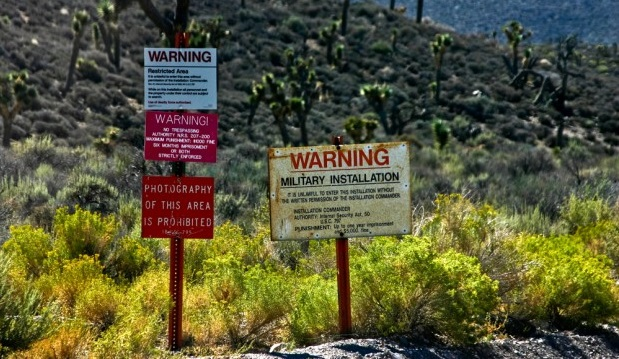 Gov't Moves To Seize Nevada Family's Property Near Area 51