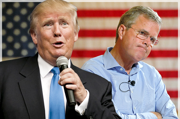 Trump Fires Back At Bush: 'He Should Lead By Speaking English While In The USA'