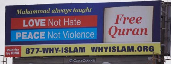 US Muslims Hope Billboards Reclaim Islam's Message Of Peace, Justice Amid Violent Attacks
