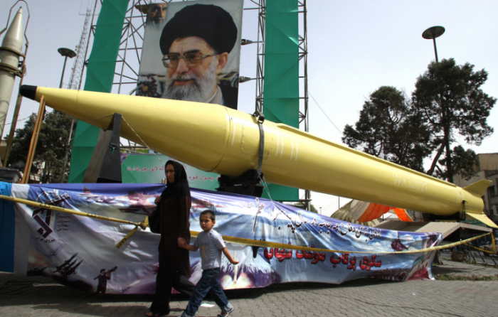 Iran: Missiles Pointed At U.S.