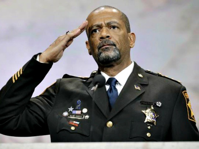 "Sheriff David Clarke Had Harsh Words For Fellow Law Enforcement ""In Bed With Obama"""