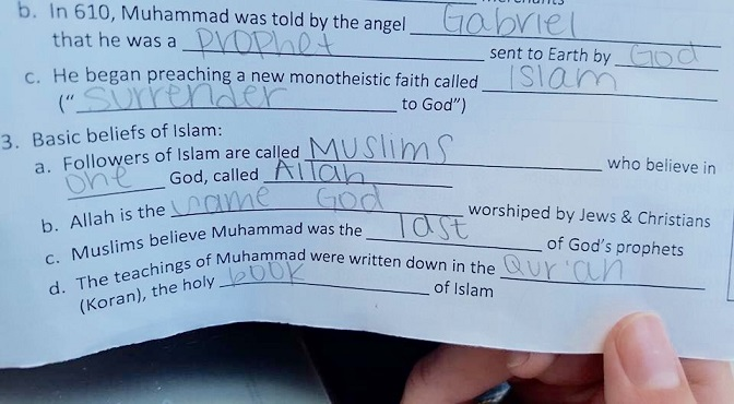 School Starts Islamic Indoctrination – Gets Huge Surprise When Hundreds Of Angry Parents Take Action [Video]