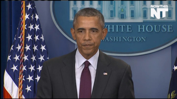 Obama Voices Anger Over Oregon Shooting, Urges Gun Control [Video]