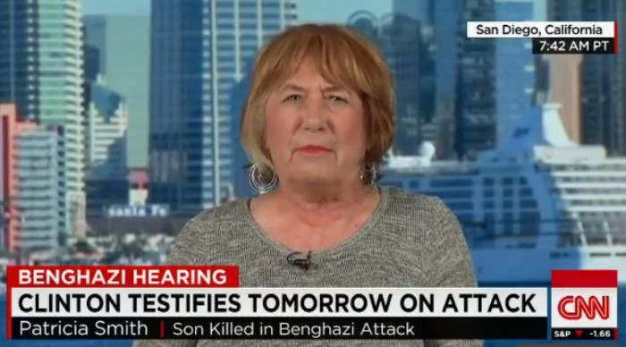 Mother of Benghazi Victim Sean Smith Erupts at Hillary Clinton: 'She's Lying, She's Absolutely Lying!' [Video]