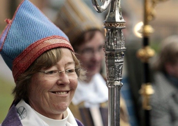 Lesbian Bishop: 'Remove Crosses From Churches To Make Them Less Offensive To Muslims'