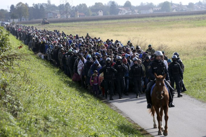 These Are NOT 'Desperate' Syrian Migrants This Is An INVASION (Video)