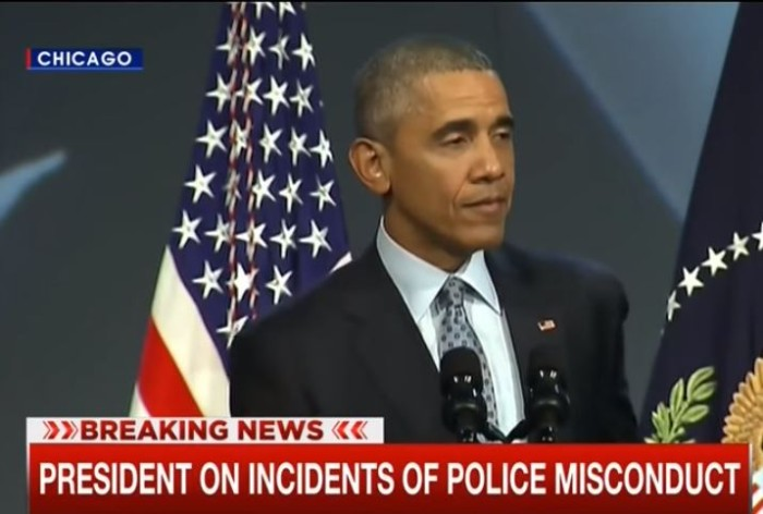 Obama: 'When I Was Younger I Was Pulled Over By Cops Just Because I'm BLACK!' [Video]