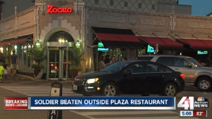 Army Captain Bumps Into Black Man In Restaurant… Doesn't Think Much Of It Until He Steps Outside [Video]
