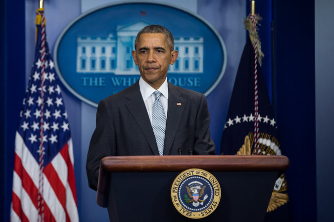 'Enough Is Enough' Obama DEMANDS More Gun Control After Colorado Shooting