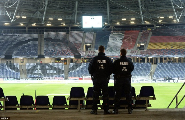 'Bomb Truck Disguised As Ambulance' Discovered As Police Confirm Device Was To Be Detonated Inside Netherlands-Germany Soccer Game